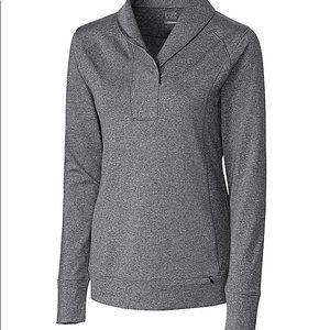 Ladies Golf Shirt Cutter & Buck  1/2 Zip